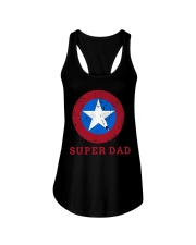 Super Dad T-Shirt Funny Superhero Father's Day Tsh Ladies Flowy Tank thumbnail