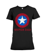 Super Dad T-Shirt Funny Superhero Father's Day Tsh Premium Fit Ladies Tee thumbnail