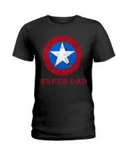 Super Dad T-Shirt Funny Superhero Father's Day Tsh Ladies T-Shirt thumbnail