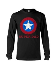 Super Dad T-Shirt Funny Superhero Father's Day Tsh Long Sleeve Tee thumbnail
