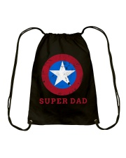 Super Dad T-Shirt Funny Superhero Father's Day Tsh Drawstring Bag thumbnail