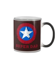 Super Dad T-Shirt Funny Superhero Father's Day Tsh Color Changing Mug thumbnail