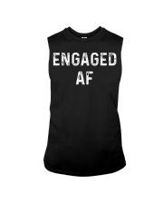 Engaged AF  Funny Couple Newlywed T-Shirt Sleeveless Tee thumbnail