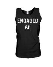 Engaged AF  Funny Couple Newlywed T-Shirt Unisex Tank thumbnail