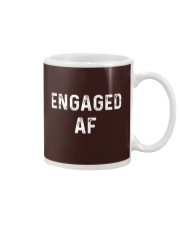 Engaged AF  Funny Couple Newlywed T-Shirt Mug thumbnail