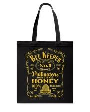 Beekeeper T-Shirt Beekeeping Shirt Old Time Honey Tote Bag thumbnail
