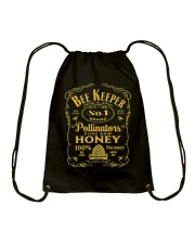 Beekeeper T-Shirt Beekeeping Shirt Old Time Honey Drawstring Bag thumbnail