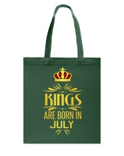 Kings Are Born In July T-shirt Tote Bag thumbnail