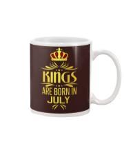 Kings Are Born In July T-shirt Mug thumbnail