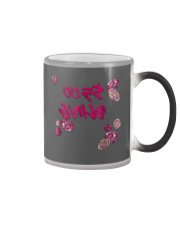 5 Bling Pink Diamond Paparazzi Reverse Text Live M Color Changing Mug tile