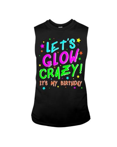Glow Party Birthday TShirt Funny Cute B Day