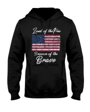 Patriotic Betsy Ross American Flag Shirt with 13 S Hooded Sweatshirt thumbnail
