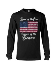 Patriotic Betsy Ross American Flag Shirt with 13 S Long Sleeve Tee thumbnail