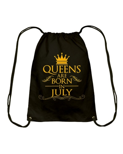 July Birthday Gift T Shirt Queens Are Born In July