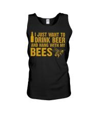 Beekeeper T-Shirt Beekeeping Shirt Drink Beer Unisex Tank thumbnail