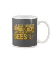 Beekeeper T-Shirt Beekeeping Shirt Drink Beer Mug thumbnail