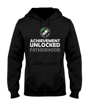 Mens First Time Dad Achievement Unlocked Fatherho Hooded Sweatshirt thumbnail