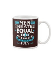All Men Are Created Equal Born In July Birthday  Mug thumbnail
