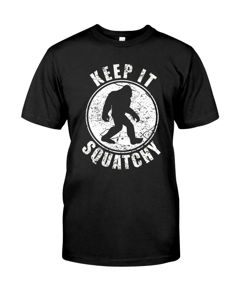 Bigfoot T-shirt Bigfoot Saw Me But Nobody Believes Classic T-Shirt