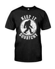 Bigfoot T-shirt Bigfoot Saw Me But Nobody Believes Classic T-Shirt front
