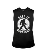 Bigfoot T-shirt Bigfoot Saw Me But Nobody Believes Sleeveless Tee thumbnail