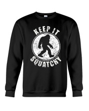 Bigfoot T-shirt Bigfoot Saw Me But Nobody Believes Crewneck Sweatshirt thumbnail
