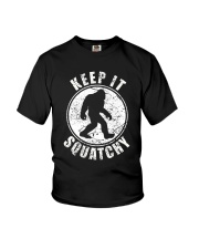 Bigfoot T-shirt Bigfoot Saw Me But Nobody Believes Youth T-Shirt thumbnail