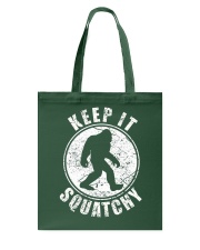 Bigfoot T-shirt Bigfoot Saw Me But Nobody Believes Tote Bag thumbnail