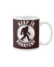 Bigfoot T-shirt Bigfoot Saw Me But Nobody Believes Mug thumbnail