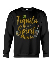 Tequila Is My Spirit Animal Cinco De Mayo Men  Crewneck Sweatshirt thumbnail