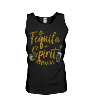 Tequila Is My Spirit Animal Cinco De Mayo Men  Unisex Tank thumbnail
