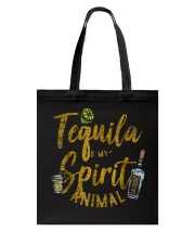 Tequila Is My Spirit Animal Cinco De Mayo Men  Tote Bag front