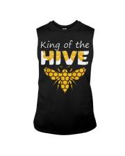 Beekeeping King of The Hive Tshirt Beekeeper  Sleeveless Tee thumbnail