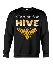 Beekeeping King of The Hive Tshirt Beekeeper  Crewneck Sweatshirt thumbnail