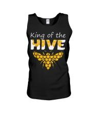 Beekeeping King of The Hive Tshirt Beekeeper  Unisex Tank thumbnail