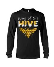 Beekeeping King of The Hive Tshirt Beekeeper  Long Sleeve Tee thumbnail