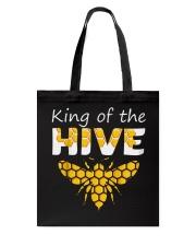 Beekeeping King of The Hive Tshirt Beekeeper  Tote Bag thumbnail