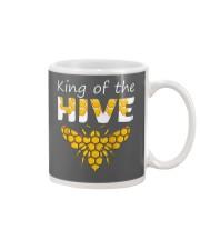 Beekeeping King of The Hive Tshirt Beekeeper  Mug thumbnail