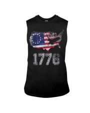 Betsy Ross Flag Symbolism American Victory 1776  Sleeveless Tee thumbnail