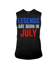 Legends are born in July T-Shirt Sleeveless Tee thumbnail