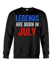 Legends are born in July T-Shirt Crewneck Sweatshirt thumbnail