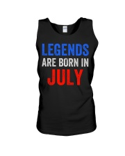 Legends are born in July T-Shirt Unisex Tank thumbnail