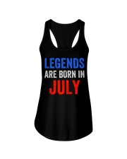 Legends are born in July T-Shirt Ladies Flowy Tank thumbnail