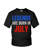 Legends are born in July T-Shirt Youth T-Shirt thumbnail