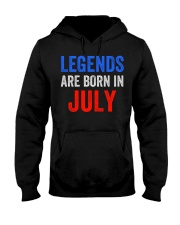 Legends are born in July T-Shirt Hooded Sweatshirt thumbnail