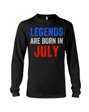 Legends are born in July T-Shirt Long Sleeve Tee thumbnail