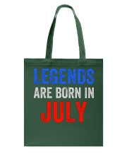 Legends are born in July T-Shirt Tote Bag thumbnail