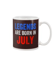 Legends are born in July T-Shirt Mug thumbnail
