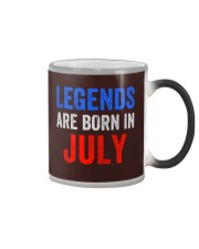Legends are born in July T-Shirt Color Changing Mug thumbnail
