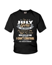 I'm A July Girl T-Shirt Funny July Birthday Gifts Youth T-Shirt thumbnail